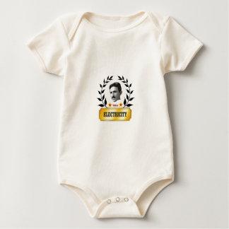 electric tesola baby bodysuit