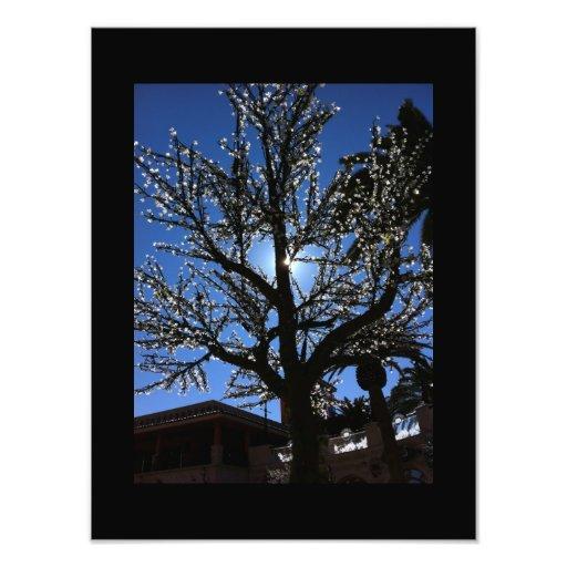 Electric Tree Photo Print
