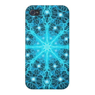 Electric Universe Mandala Cover For iPhone 4