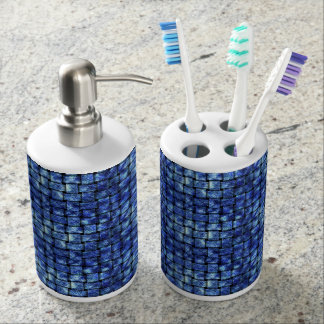 Electric Weave - Soap Dispenser And Toothbrush Holder