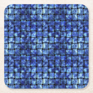 Electric Weave - Square Paper Coaster