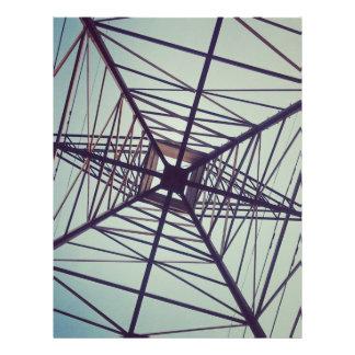 ELECTRIC WEB: Power & Nature Custom Letterhead