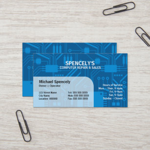 Electric circuit business cards business card printing zazzle ca electrical circuit board blue business card colourmoves