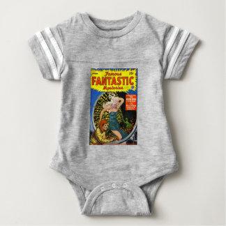 Electrical Dinosaur Baby Bodysuit