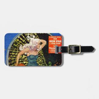 Electrical Dinosaur Luggage Tag