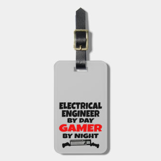 Electrical Engineer by Day Gamer by Night Luggage Tag