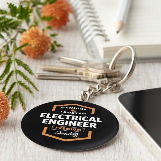 Electrical Engineer | Gift Ideas Basic Round Button Keychain