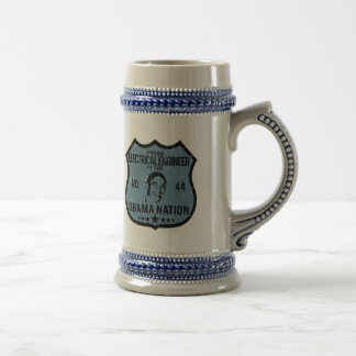 Electrical Engineer Obama Nation Beer Stein