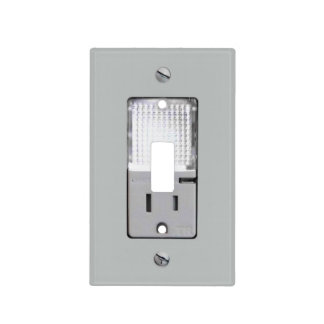 Electrical Outlet with Night Light Light Switch Cover