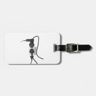 Electrical overload luggage tag