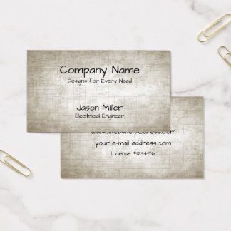 Electrical Schematics Business Card