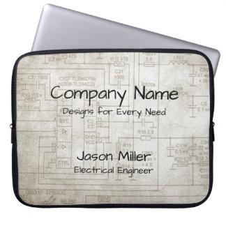 Electrical Schematics Laptop Sleeve