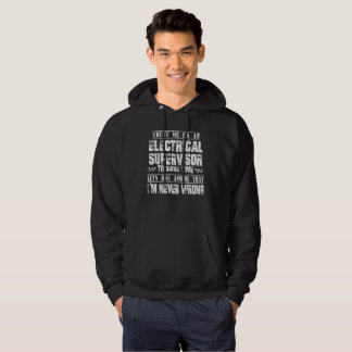 ELECTRICAL SUPERVISOR HOODIE