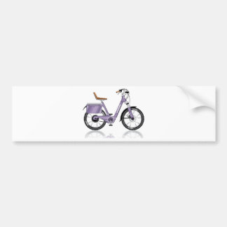 ElectricBicycleVectorDetailed Bumper Sticker