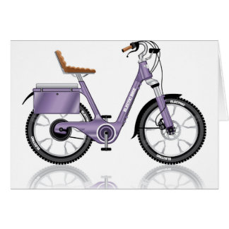 ElectricBicycleVectorDetailed Card