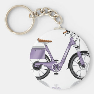 ElectricBicycleVectorDetailed Keychain