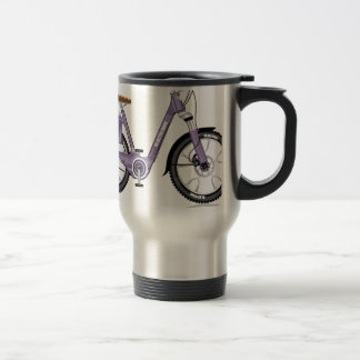 ElectricBicycleVectorDetailed Travel Mug