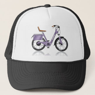 ElectricBicycleVectorDetailed Trucker Hat