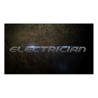 Electrician Business card Carte De Visite Standard