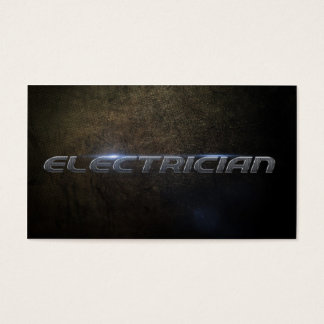 Electrician Business card Cartes De Visite