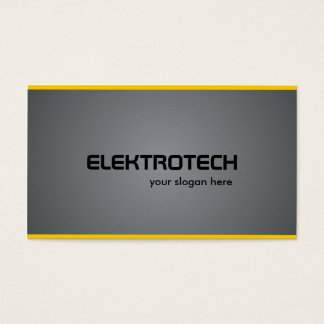Electrician - Business Cards
