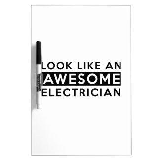 ELECTRICIAN DESIGNS Dry-Erase BOARD
