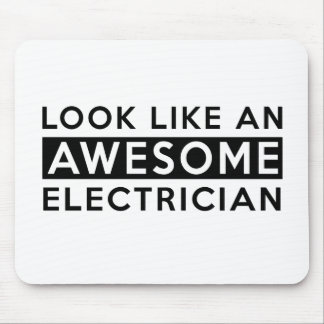 ELECTRICIAN DESIGNS MOUSE PAD