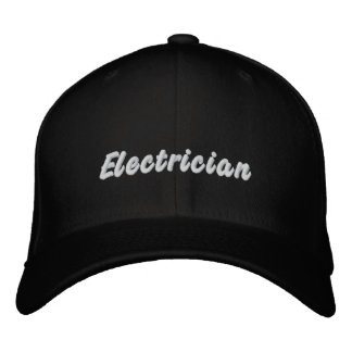 Electrician Embroidered Hat