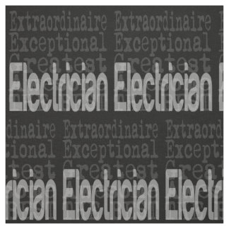 Electrician Extraordinaire Fabric