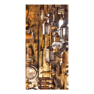 Electrician - Let there be light! Photo Greeting Card