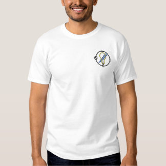 Electrician Logo Embroidered T-Shirt