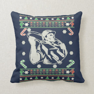 Electrician - Merry Christmas Throw Pillow