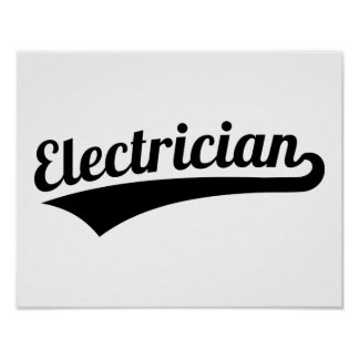 Electrician Poster