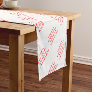 ELECTRICIAN SHORT TABLE RUNNER