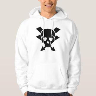 Electrician skull hoodie