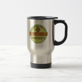 Electrician Stainless Steel Travel Mug