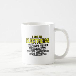 Electrician Superior Intelligence Mugs