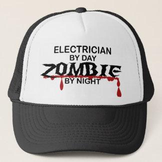 Electrician Zombie Trucker Hat