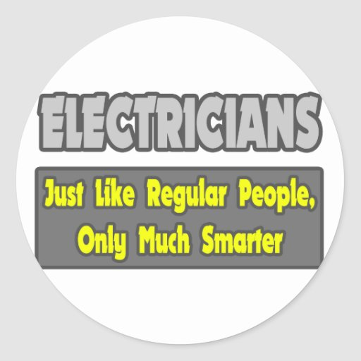 Electricians...Smarter Stickers