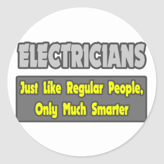 Electricians Smarter Stickers