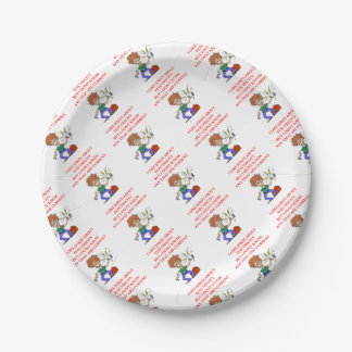 ELECTRICITY 7 INCH PAPER PLATE