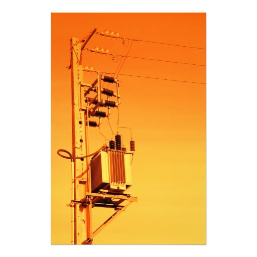 Electricity distribution equipment photo