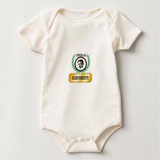 electricity tesla baby bodysuit