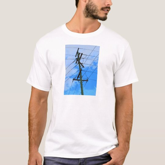 ELECTRICIY POLE RURAL QUEENSLAND AUSTRALIA T-Shirt