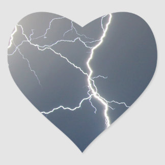 Electrifying!! Heart Sticker