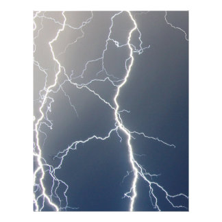 Electrifying!! Personalized Letterhead