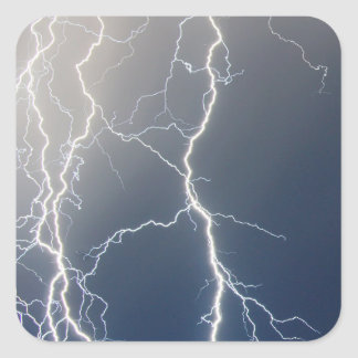 Electrifying!! Square Sticker