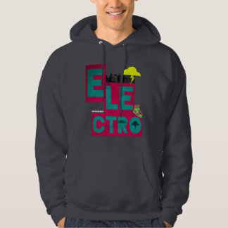 electro music hoodie