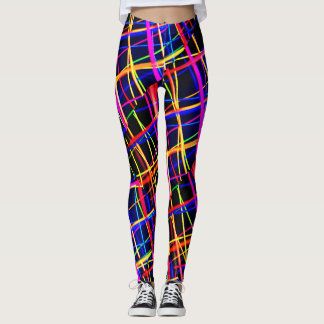 electro wave womens leggings