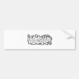 Electrofish Bumper Sticker